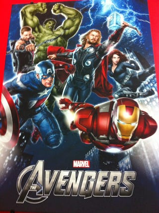 Illustration for article titled The Avengers Poster