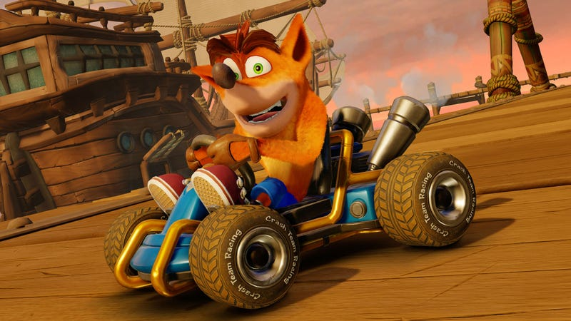 Illustration for article titled Crash Team Racing PS4's Got A Save-Corrupting Bug, But A Fix Is On The Way