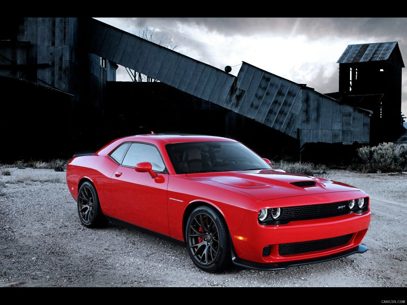Some People Are Fans Of The Challenger Srt Hellcat But Many More Not This 2017 Tongue In Cheek Car