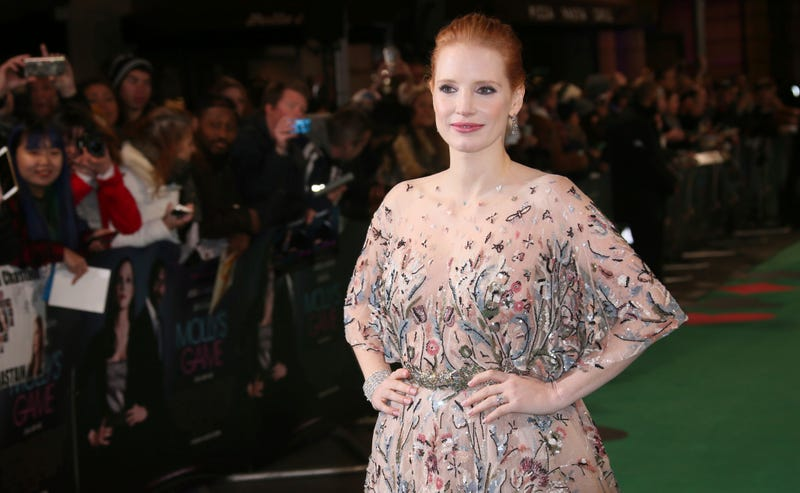 Jessica Chastain reacts amid outrage over her all-white magazine cover