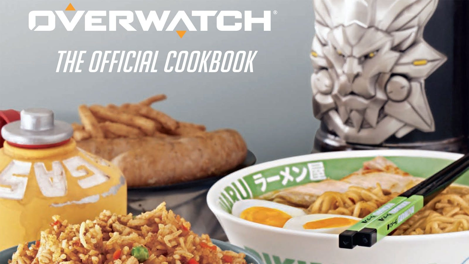 Official Overwatch Cookbook Lets You Recreate Pharah's Favorite Childhood Snack