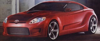 Illustration for article titled 2010 Toyota Supra Super Speculation Scan Potential