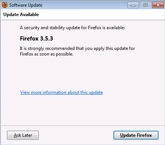 Illustration for article titled Mozilla Releases Firefox 3.5.3 with Security and Stability Fixes