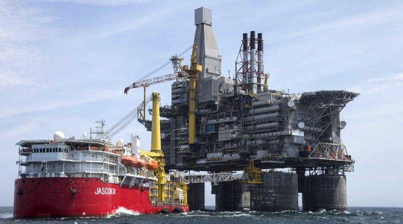 Illustration for article titled Este gigante es la nueva plataforma petrolífera más grande del mundo