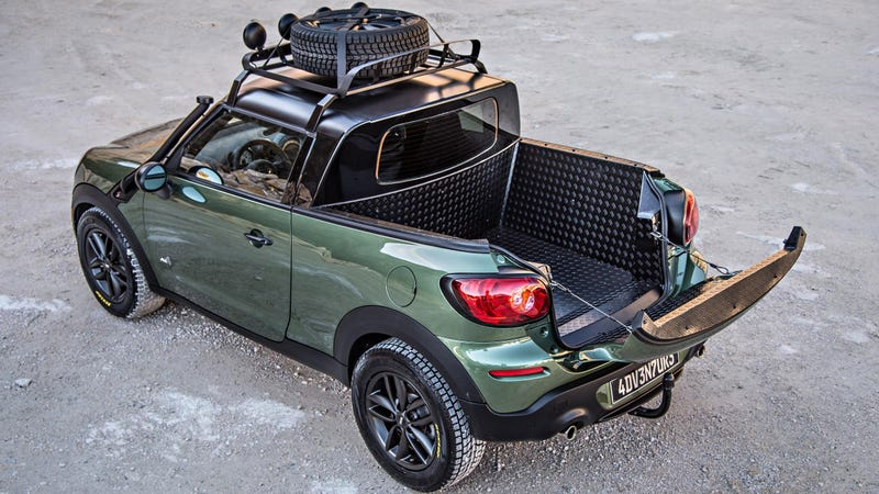 Illustration for article titled The Mini Paceman Adventure Is A One-Off Pickup Loaded With Awesomeness