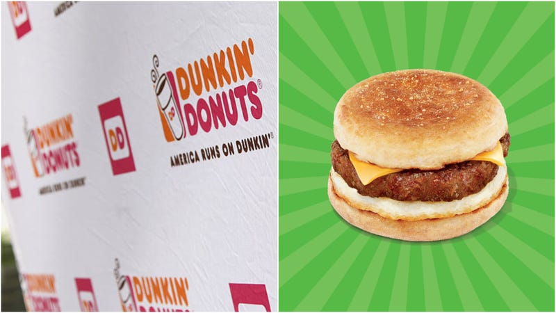Illustration for article titled Dunkin' bets on Beyond Meat in breakfast sandwiches