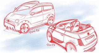 Illustration for article titled Fiat 500 Variants in the Works?
