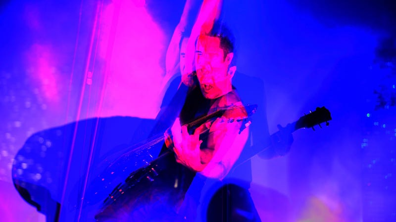 Illustration for article titled Trent Reznor says Kanye West ripped off his live show