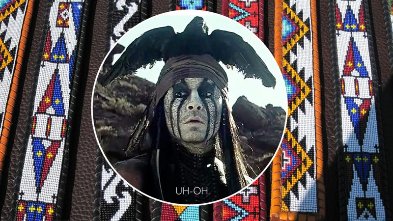 Illustration for article titled 'Native American' Lone Ranger Designer Isn't Actually Native American