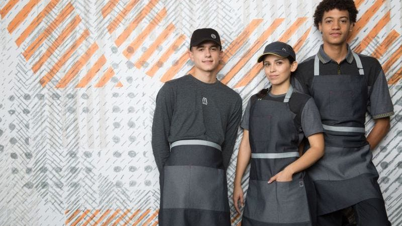 McDonald's employees will also be allowed to utilize pockets in whichever way they see fit. (Photo: McDonald's)