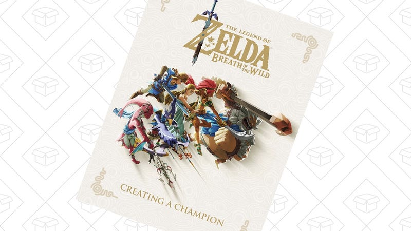 Preorder The Legend of Zelda Breath of the Wild: Creating a Champion Hardcover | $24 | Amazon