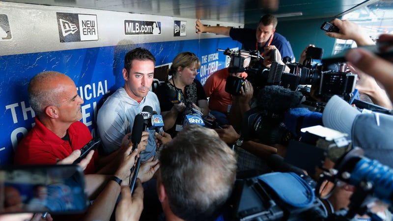 Illustration for article titled Matt Harvey Is Not Bitter Toward The Mets At All, No Sir