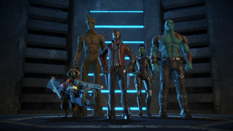 Illustration for article titled Telltale's Guardians Of The Galaxy Series Starts Strong