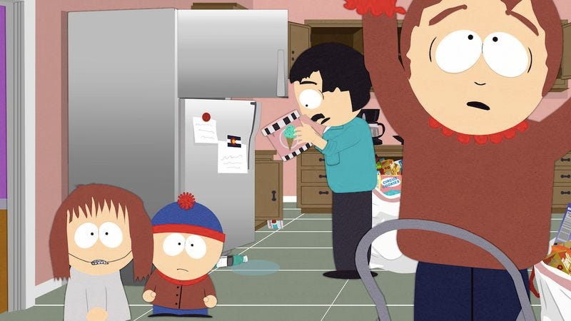 "Illustration for article titled South Park: ""Gluten-Free Ebola"""