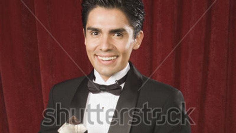 Illustration for article titled Massive Bombshell: Shutterstock Just Killed Off 'Man Accepting Award'