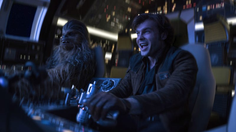 Come on get happy, Solo: A Star Wars Story is coming home.
