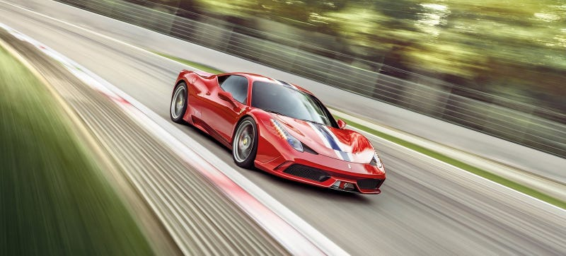 Illustration for article titled The Ferrari 458 Will Reportedly Get Twin-Turbo Power For 2015