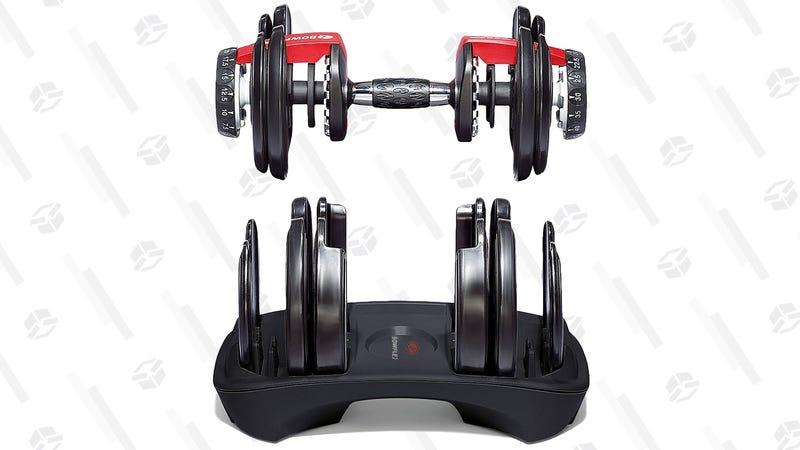 Bowflex SelectTech 552 Adjustable Dumbbells | $200 | Amazon | Clip the $98 coupon