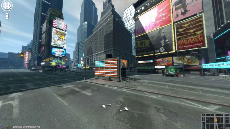 Illustration for article titled 80,000 Screen Shots Later, Grand Theft Auto IV's Liberty City Gets Google Maps Street Views