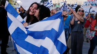"Greece Rejects Austerity, Votes ""No"" to Bailout Terms"