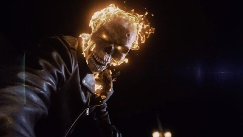 Illustration for article titled Ghost Rider's origin is revealed as a new villain threatens Agents Of S.H.I.E.L.D.