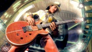 Illustration for article titled Virtual Carlos Santana Wails In Guitar Hero 5