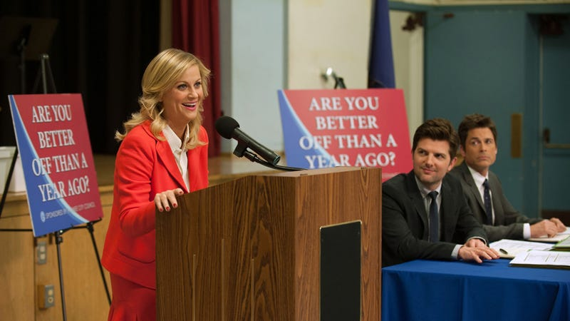 Illustration for article titled Why Parks & Rec Provides The Sharpest Political Commentary On TV