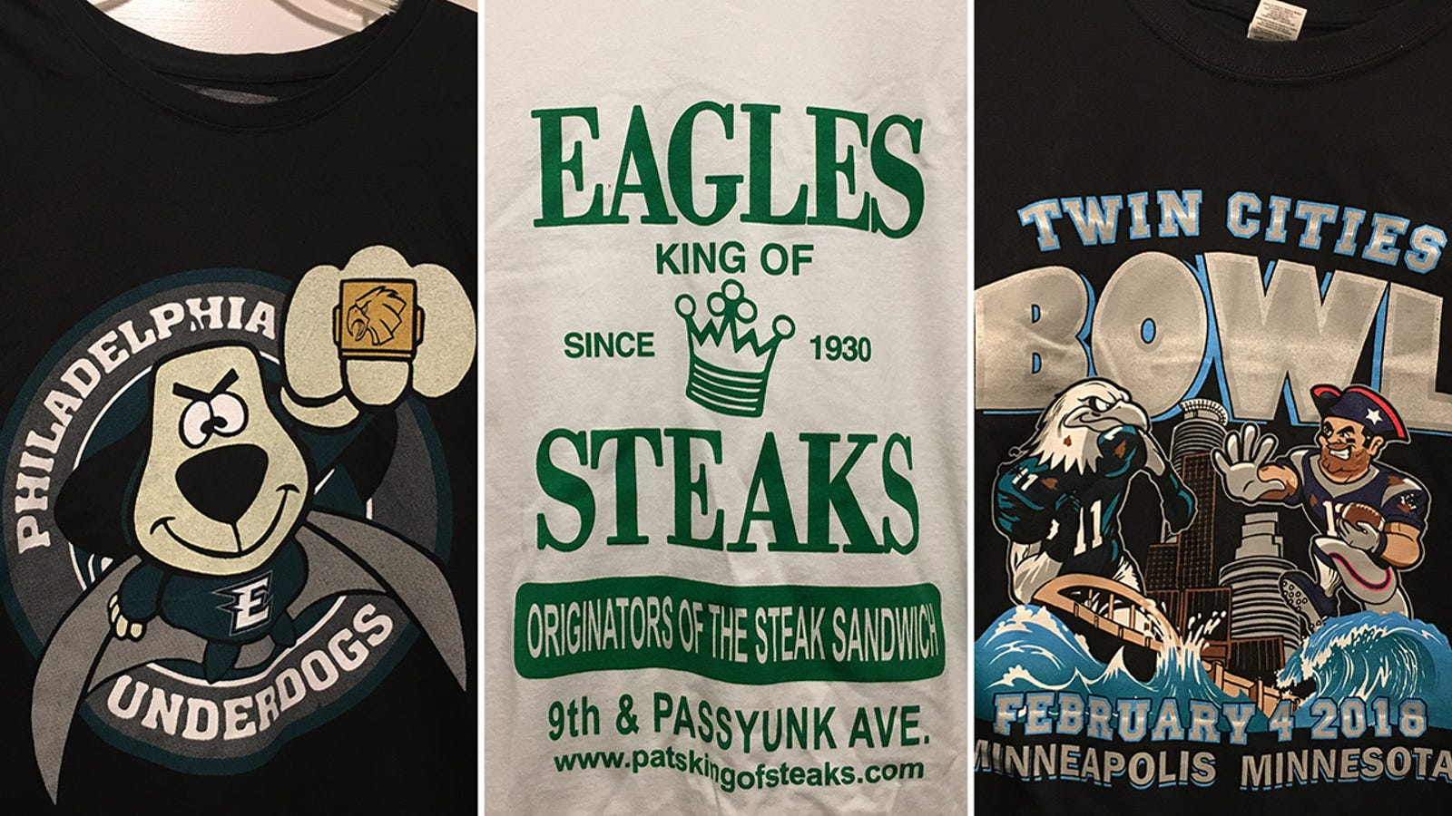 ef7d799e A Guide To Bootleg Eagles Super Bowl T-Shirts