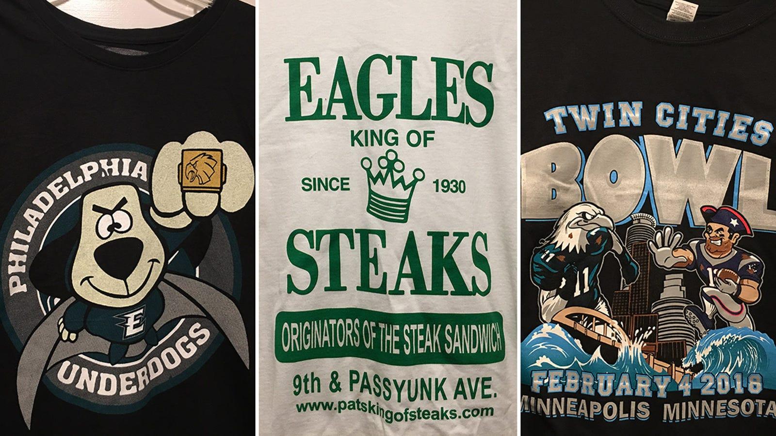 A Guide To Bootleg Eagles Super Bowl T-Shirts aaf8b4c0e