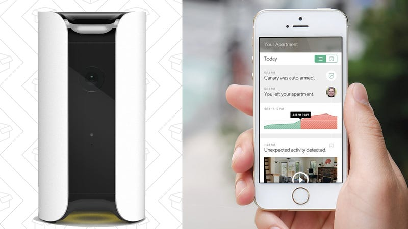 Canary All-In-One Home Security Device, $149