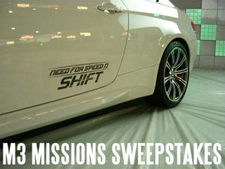Illustration for article titled Need For Speed Twitter Missions Could Score You A BMW