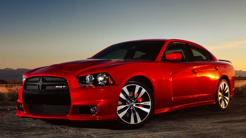 Illustration for article titled 2012 Dodge Charger SRT8: A new snout and a heaping helping of higher horsepower