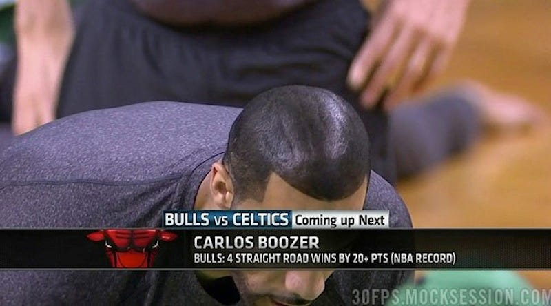 Illustration for article titled Carlos Boozer Finally Explains His Sprayed-On Hair