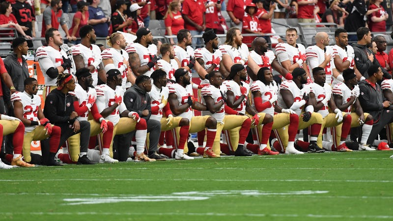 Vice President Pence leaves 49ers' game in response to anthem protest
