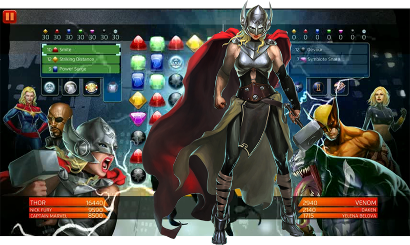 Illustration for article titled The Female Thor Is Already A Playable Video Game Character