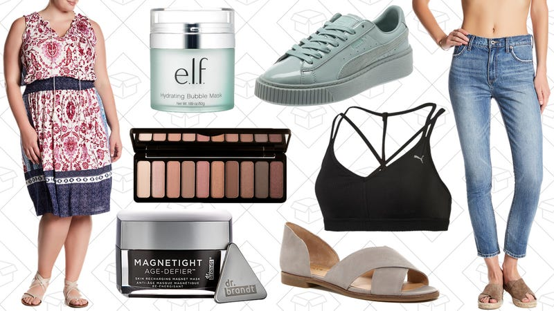 Illustration for article titled Today's Best Lifestyle Deals: e.l.f. Cosmetics, PUMA, Dr. Brandt, Lucky Brand, and More