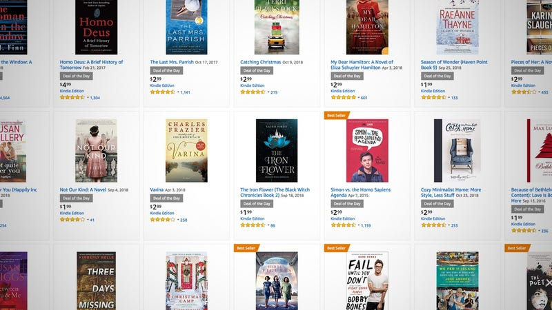 Christmas Day Kindle Ebook Sale | Amazon