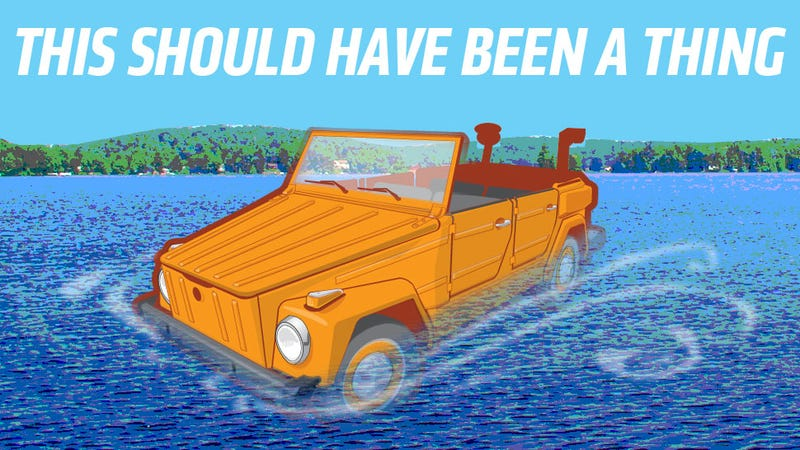 Illustration for article titled VW Should Have Made An Amphibious Thing