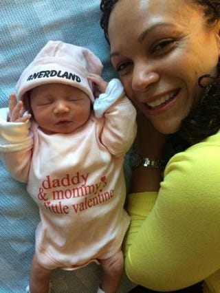 Melissa Harris-Perry and new daughtertwitter