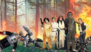 Illustration for article titled Star Wars Retold By Someone Who Never Saw Star Wars