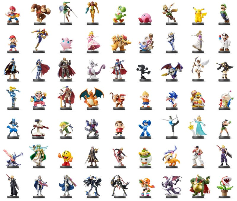 Illustration for article titled Amazon Japan Is Selling A Box With 63 Amiibo In It