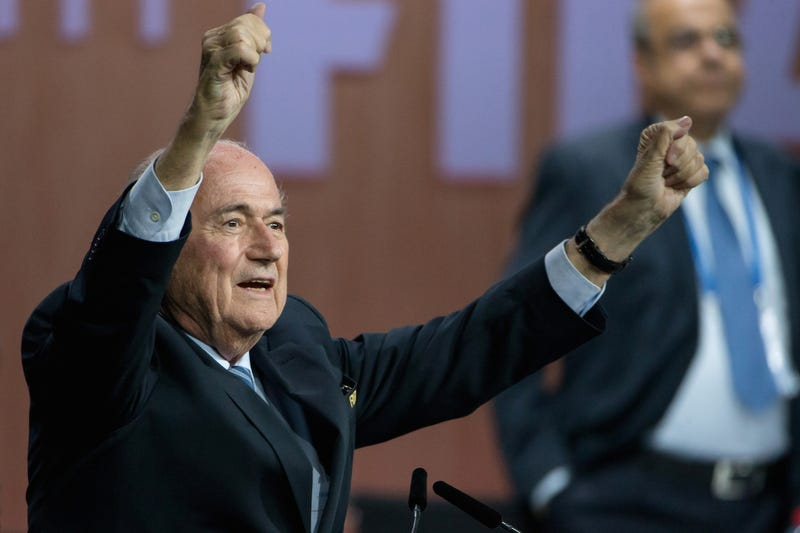 Illustration for article titled Why Sepp Blatter Will Run FIFA Until He Dies