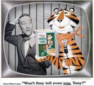 Illustration for article titled How Cereals Try To Use Eye-Contact With Their Mascots To Move Boxes