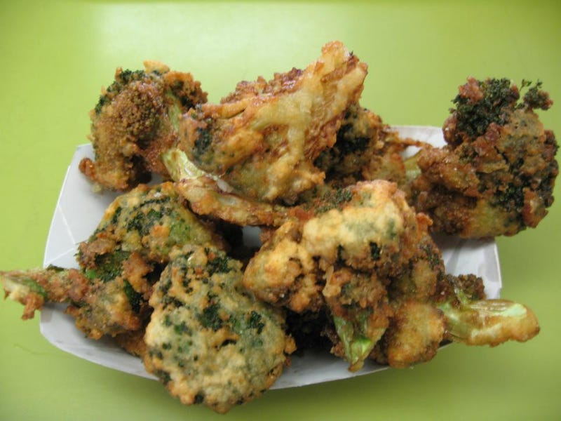 Fried broccoli. Why?