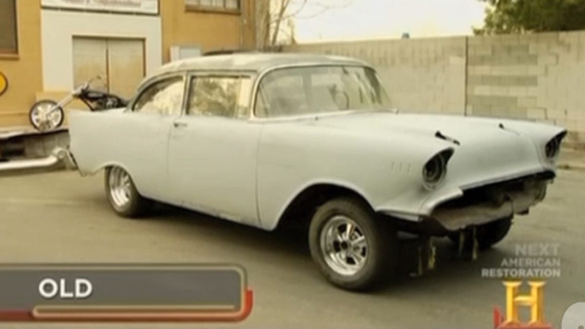 57 Chevrolet 150 featured on History Channel bursts into flames