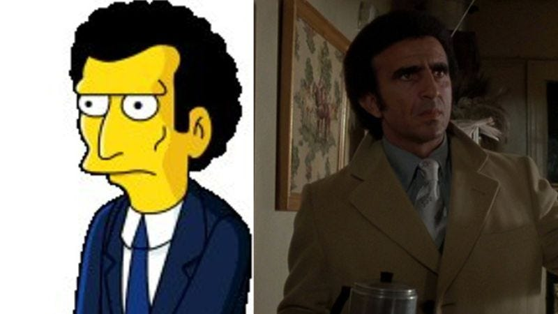 Illustration for article titled Goodfellas actor sues The Simpsons for allegedly stealing his likeness