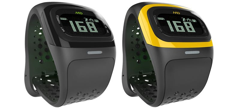 Illustration for article titled The Mio ALPHA 2 Heart Rate Watch Adds an Accelerometer and a Backlight