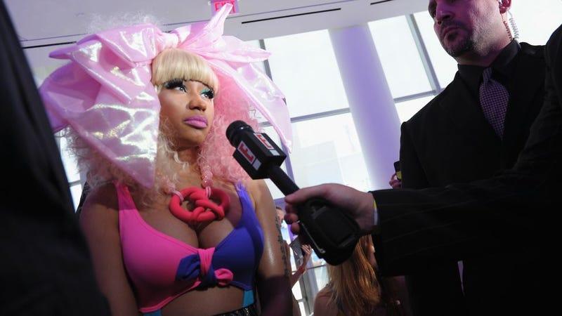 Illustration for article titled Prabal Gurung Plumps For Purple — And Nicki Minaj Showed Up