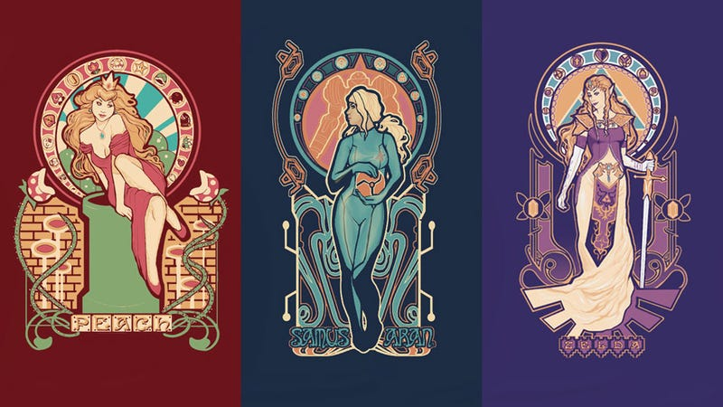 Illustration for article titled Nintendo's Trinity Of Classic Beauties