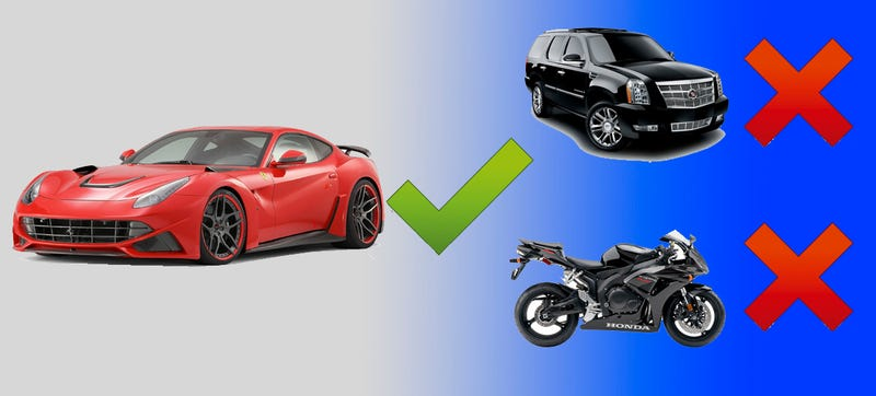Illustration for article titled Things Ferrari Will Not Make: SUVs, Motorcycles